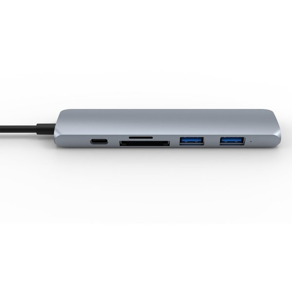 HYPERDRIVE BAR 6 IN 1 USB-C HUB FOR MACBOOK, SURFACE