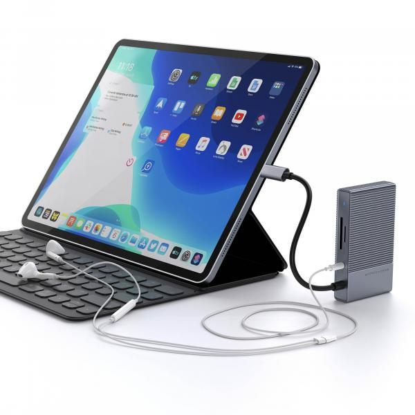 HYPERDRIVE GEN2 6-IN-1 FOR MACBOOK, IPAD PRO 2018-2020, PC & DEVICES
