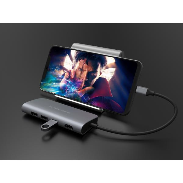 HYPERDRIVE POWER 9-IN-1 USB-C HUB FOR IPAD PRO, MACBOOK, SURFACE, ULTRABOOK, CHROMEBOOK PC & USB-C DEVICES