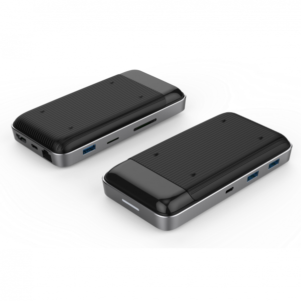 Hyper++Drive Wireless Charger USB-C Hub