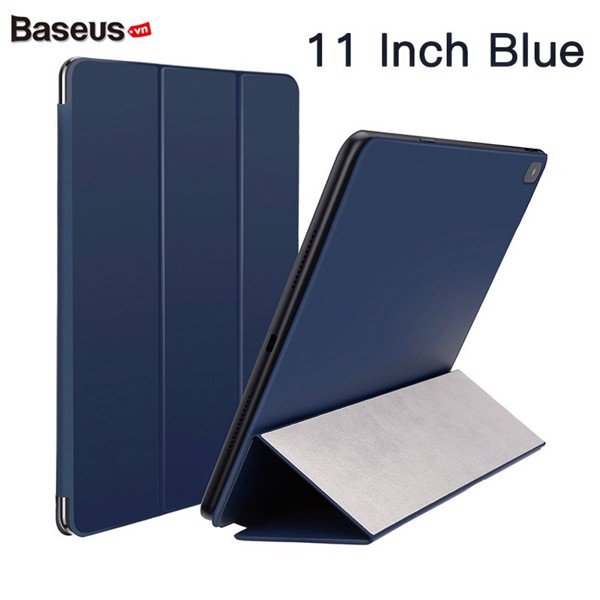 Bao da iPad Pro Baseus 11 Slimplism Y-Type leather case