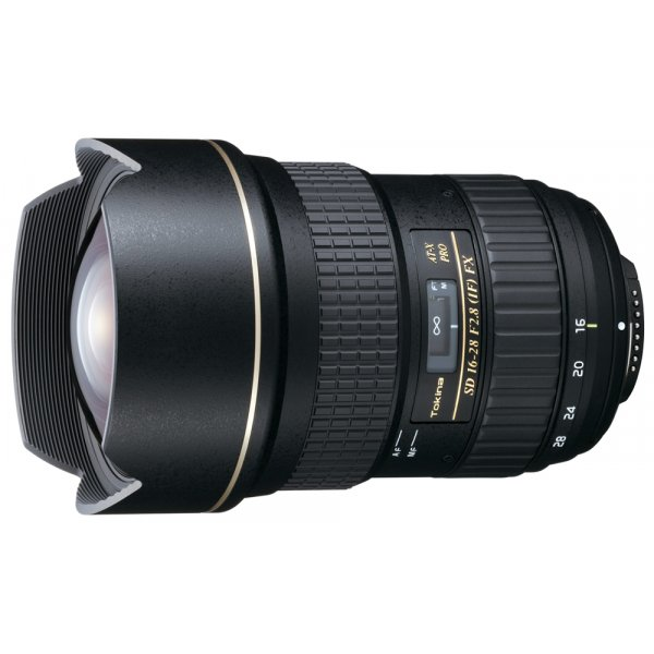 Tokina AT X16-28mm Pro FX CEF F F2.8 for Canon