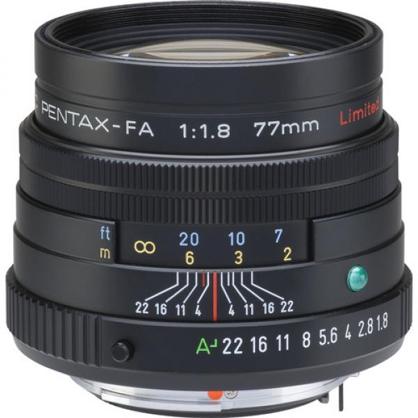 Pentax FA 77mm f/1.8 Limited - Đen