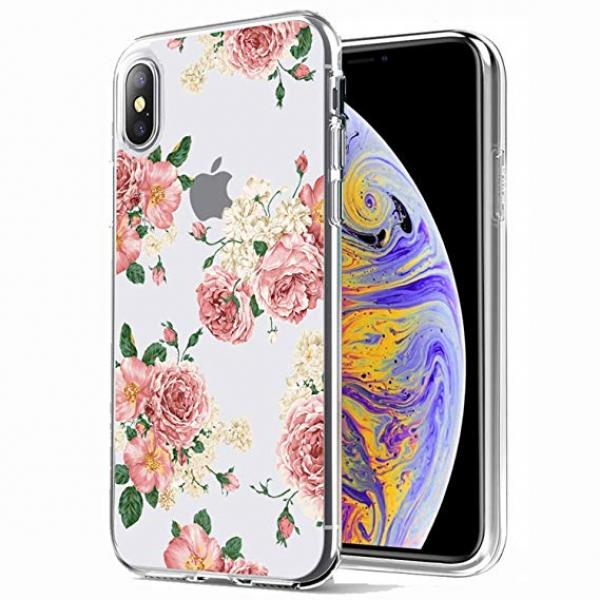 Ốp iPhone XS Coma Flowery Series Crystal Case