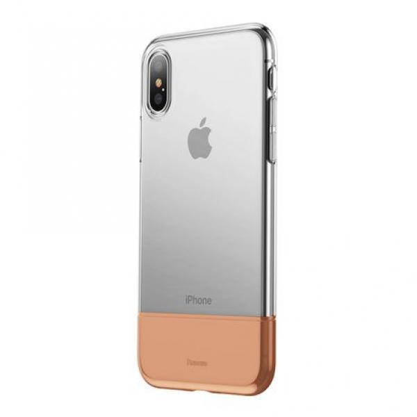 Ốp iphone X Basus soft and hard