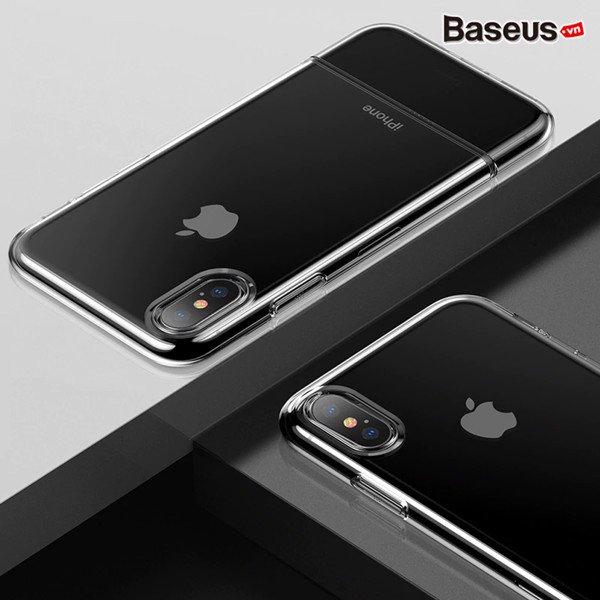 Ốp iphone XS Max Baseus Soft and hard case