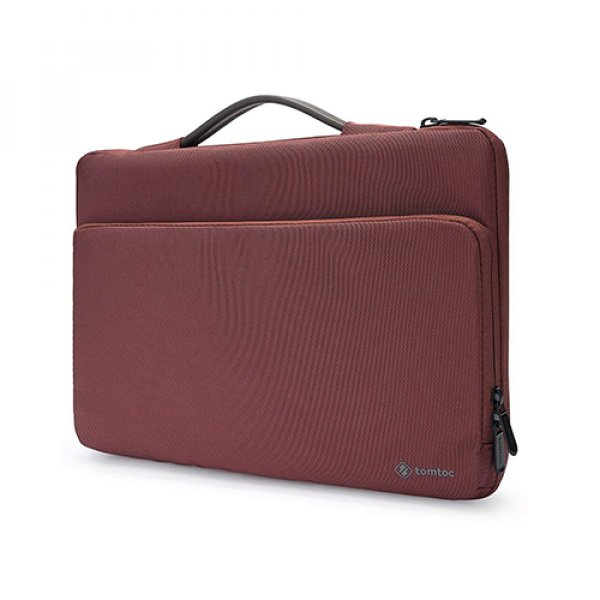 """TÚI XÁCH CHỐNG SỐC TOMTOC (USA) BRIEFCASE MACBOOK PRO 13"""" NEW RED"""